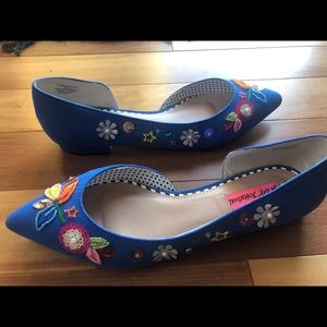 Betsey Johnson flats
